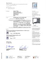 Certyfikat IFT Rosenheim – skrzynka Vegas Revo 165 mm (adaptacja PVC)