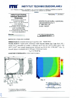 Badanie przenikalności termicznej Vegas Revo 165 mm