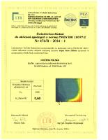 Badanie przenikalności termicznej Vegas Revo 260 mm PVC1-M