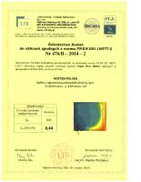 Badanie przenikalności termicznej Vegas Revo 260 mm PVC2-M