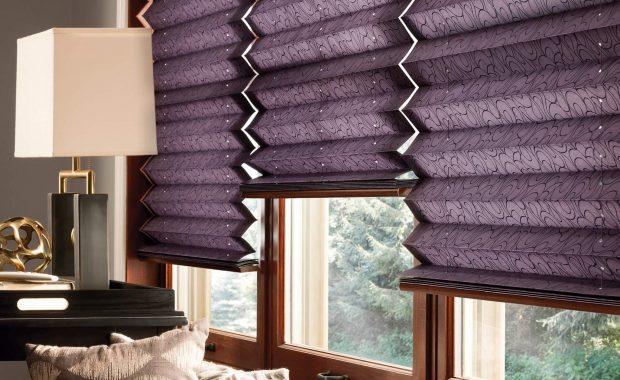 plisy fioletowe modern